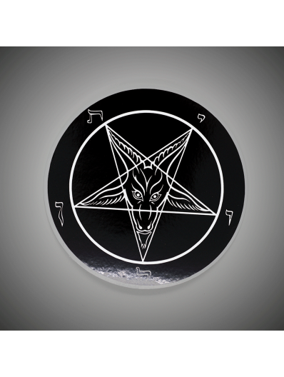 Baphomet Static Cling Sticker