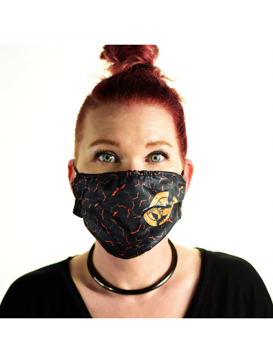 Satanme Graphic Face Mask