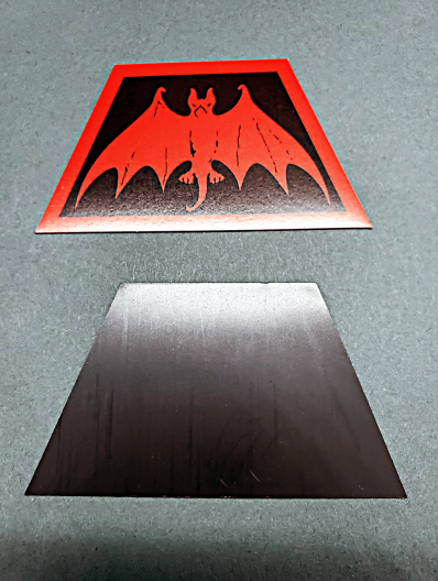 Order of the Trapezoid Bat Magnet