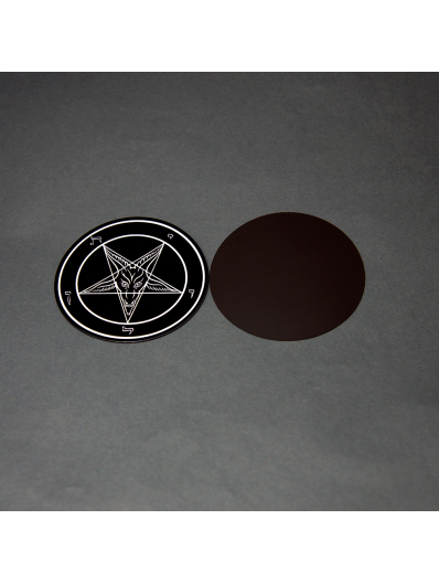 Evening Black Baphomet Magnet