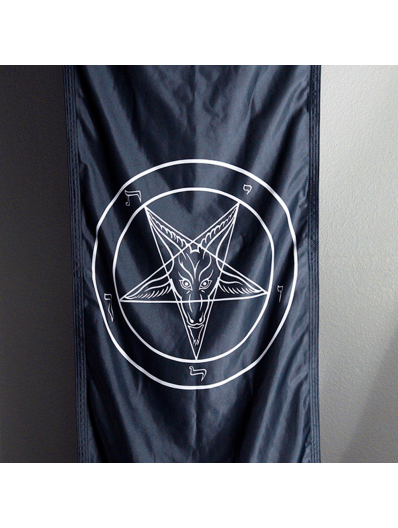 Baphomet Long Church Banner