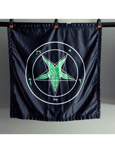Evening Envy - Baphomet Banner