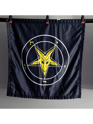 Evening Light Baphomet Banner