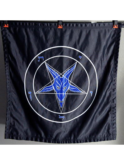 Evening Rage - Baphomet Banner
