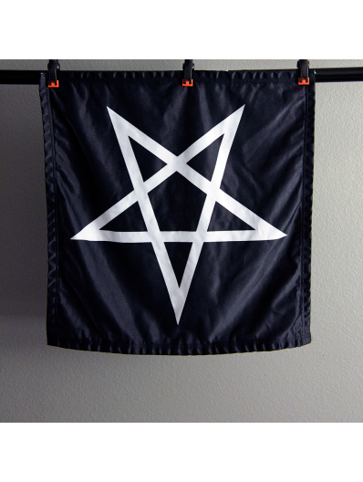 Inverted Pentagram Banner