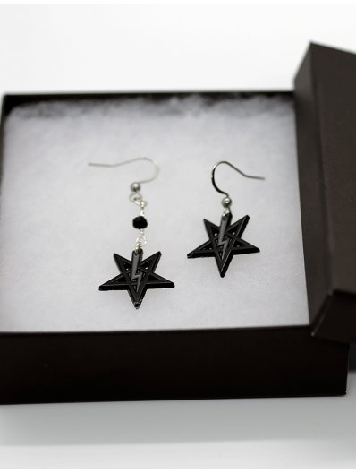 LaVey Sigil Earrings