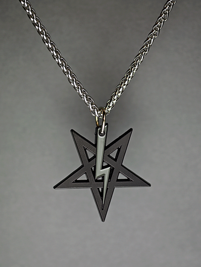 LaVey Sigil Medallion (Midnight Series)