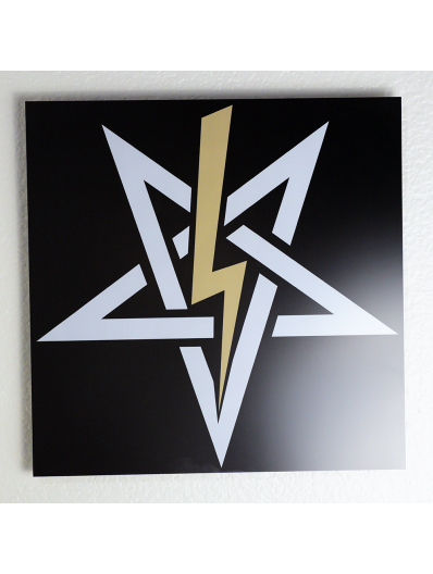 High-Definition Ritual Metal Wall Plaque
