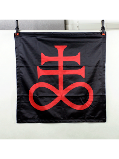 Red Brimstone Sigil Banner