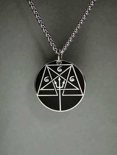 Round Order of the Trapezoid Ritual Medallion