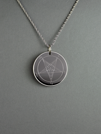 The Devil's Mirror - Double-Sided Baphomet Medallion
