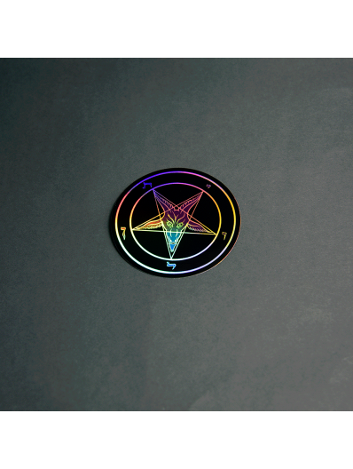 Evening Reign Holographic Sticker