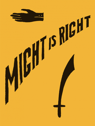 MIGHT IS RIGHT: 1927 FACSIMILE EDITION